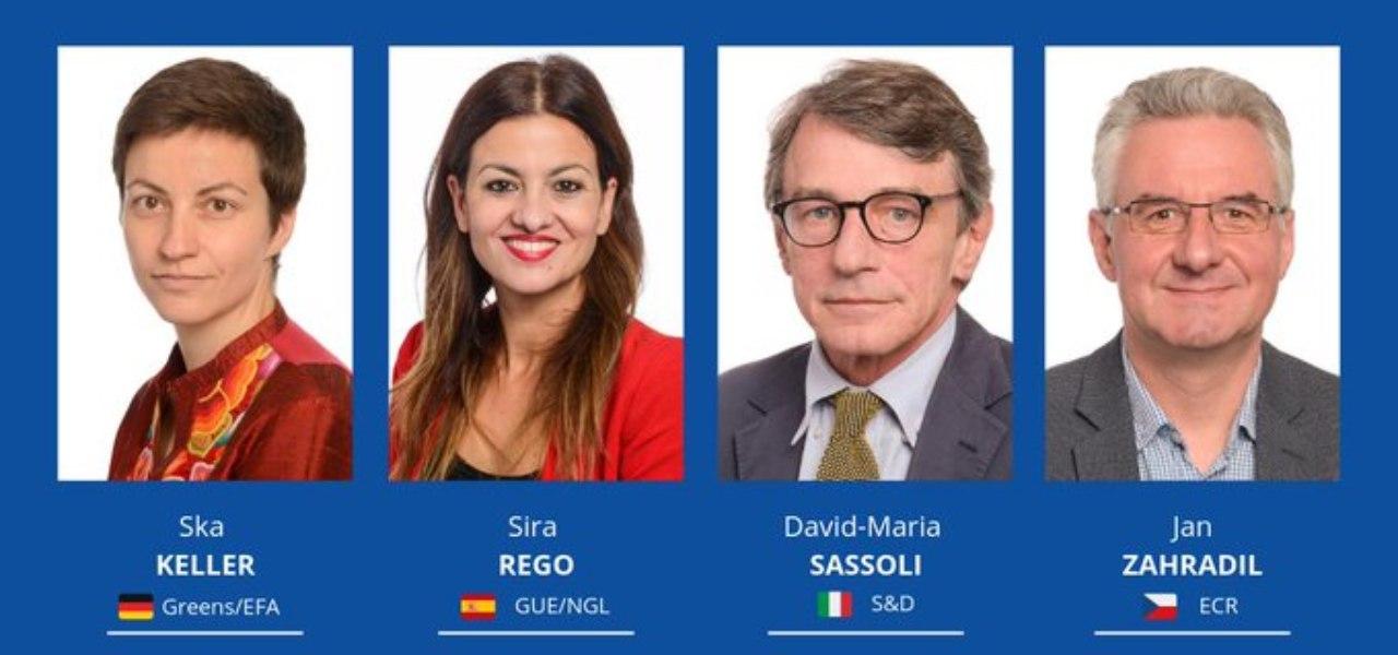 I candidati alla Presidenza dell'Europarlamento