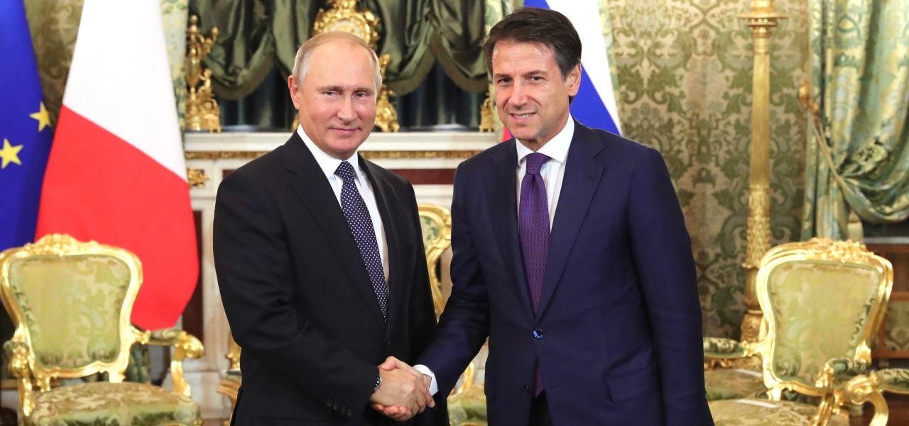 Putin e Conte