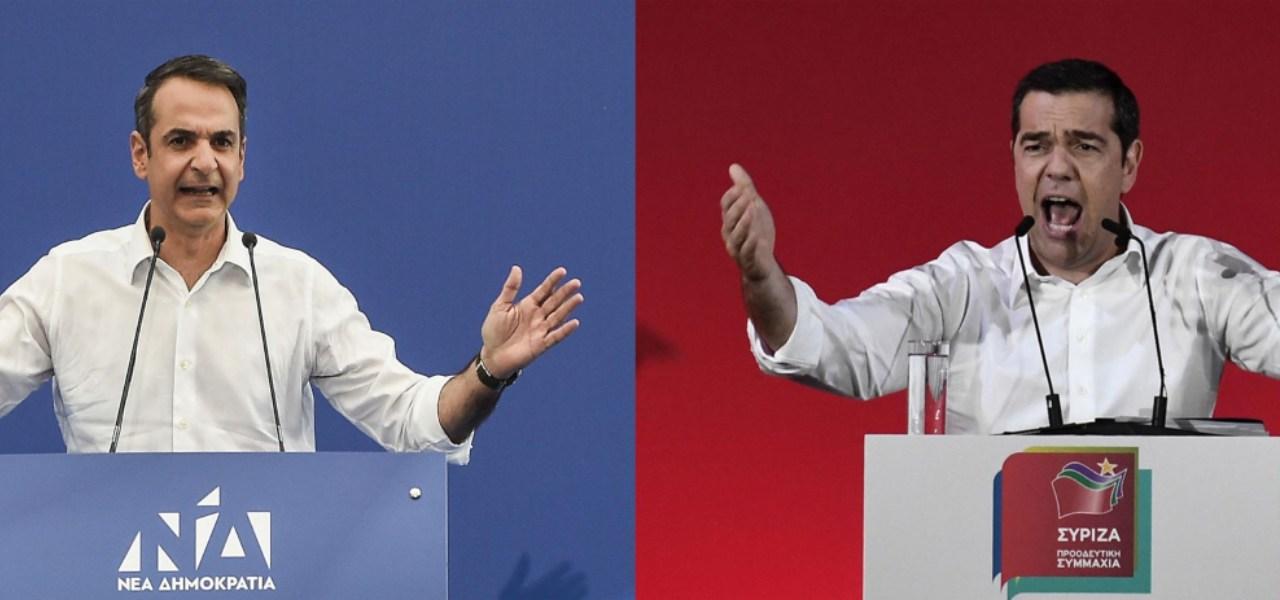 Elezioni Grecia, Mitsotakis vs Tsipras