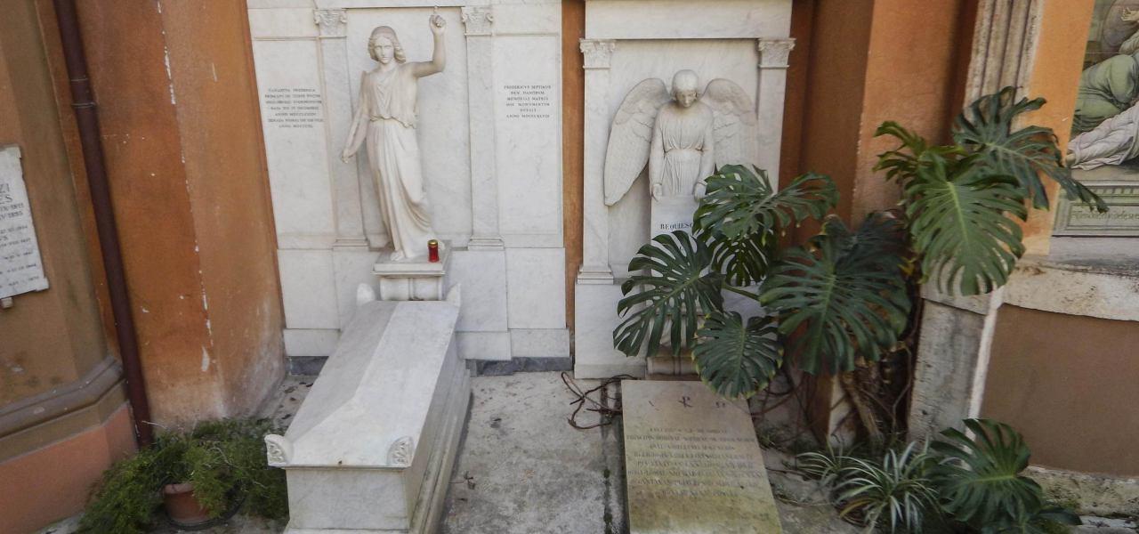 Tombe nel cimitero teutonico in Vaticano