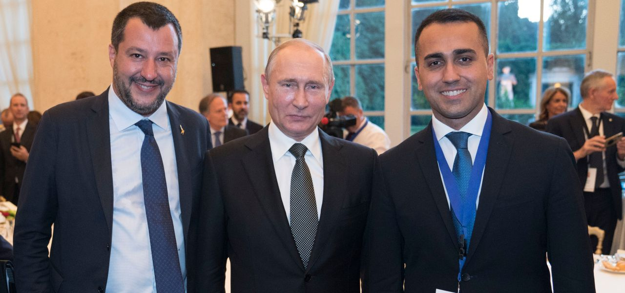 Salvini, Putin e Di Maio