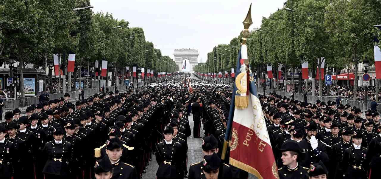 Parata del 14 luglio a Parigi