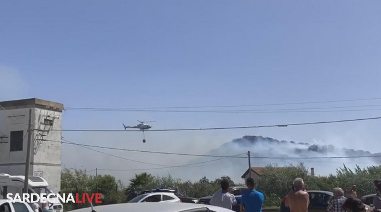 Incendio a Tortolì (Yt)
