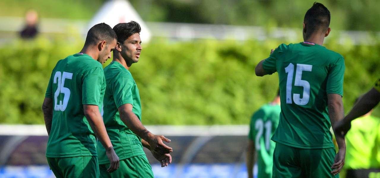 Eysseric Simeone Hancko Fiorentina amichevole lapresse 2019