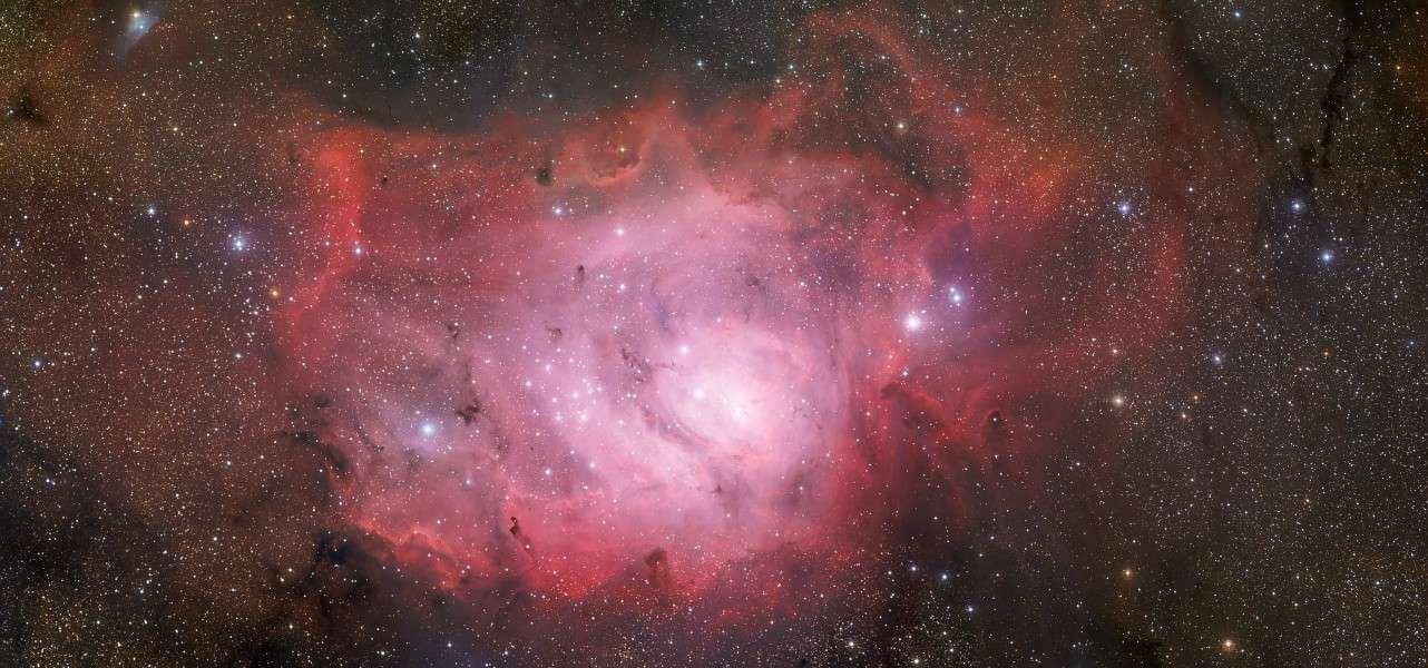 stelle nebulosa laguna NGC6523 pixabay1280