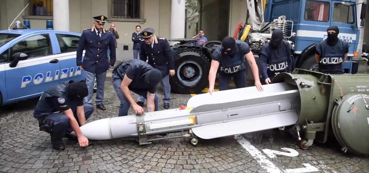 missile sequestrato torino yt