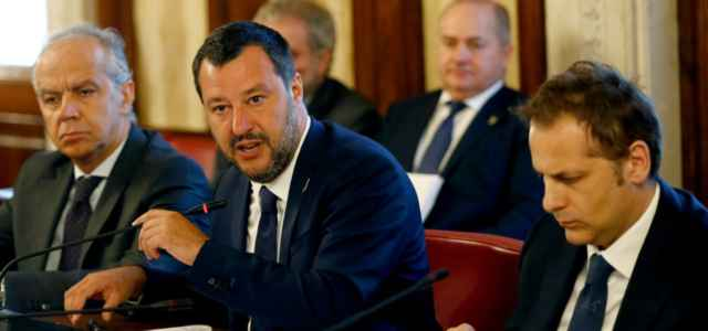 Salvini e Siri al Viminale