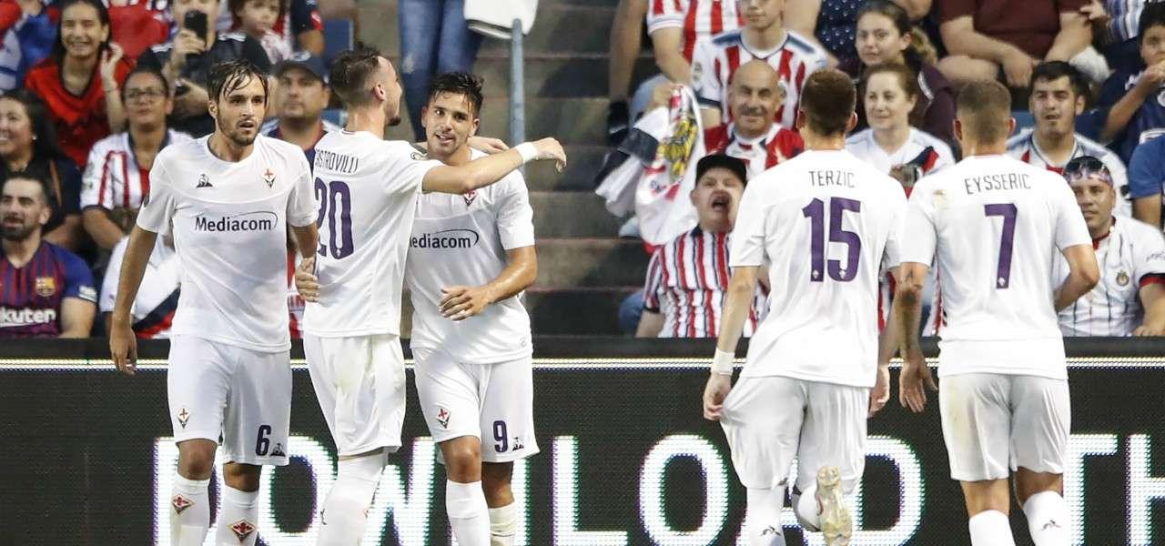 Fiorentina gruppo gol ICC lapresse 2019