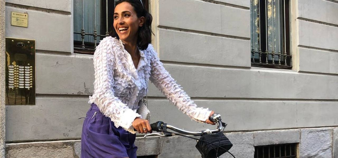 caterina balivo bici instagram
