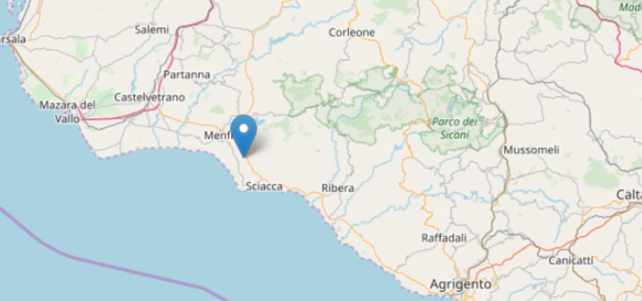 Terremoto a Menfi, Sicilia