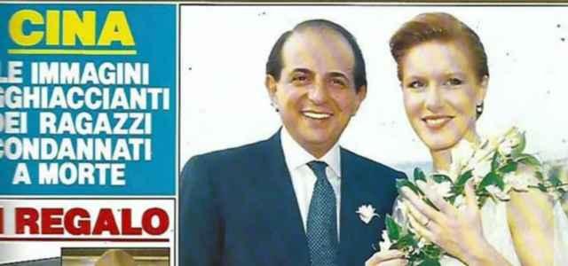 Giancarlo Magalli e Valeria Donati