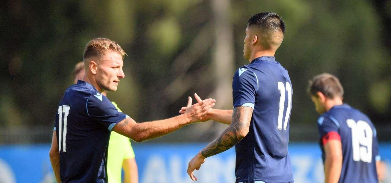Immobile Correa Lazio amichevole lapresse 2019
