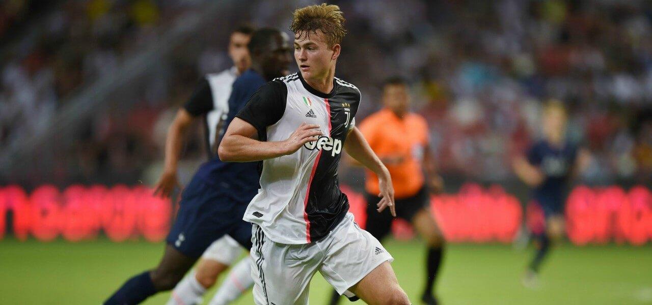 De Ligt Juventus Tottenham lapresse 2019