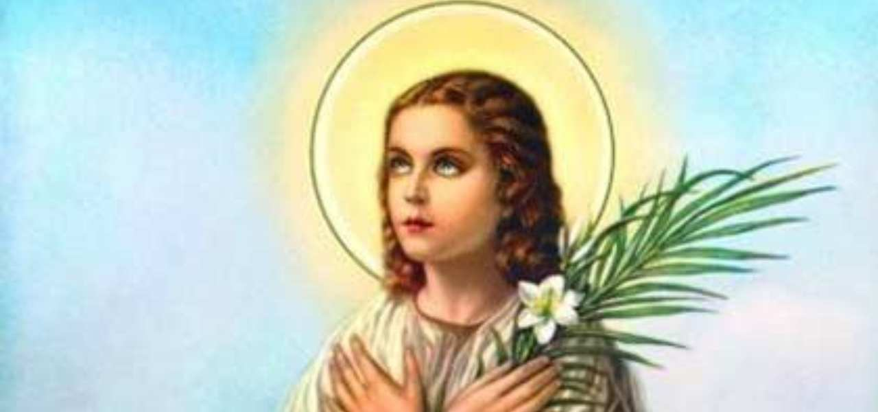 santa maria goretti 2019 iconografia