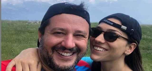 Matteo Salvini e Francesca Verdini min 640x300