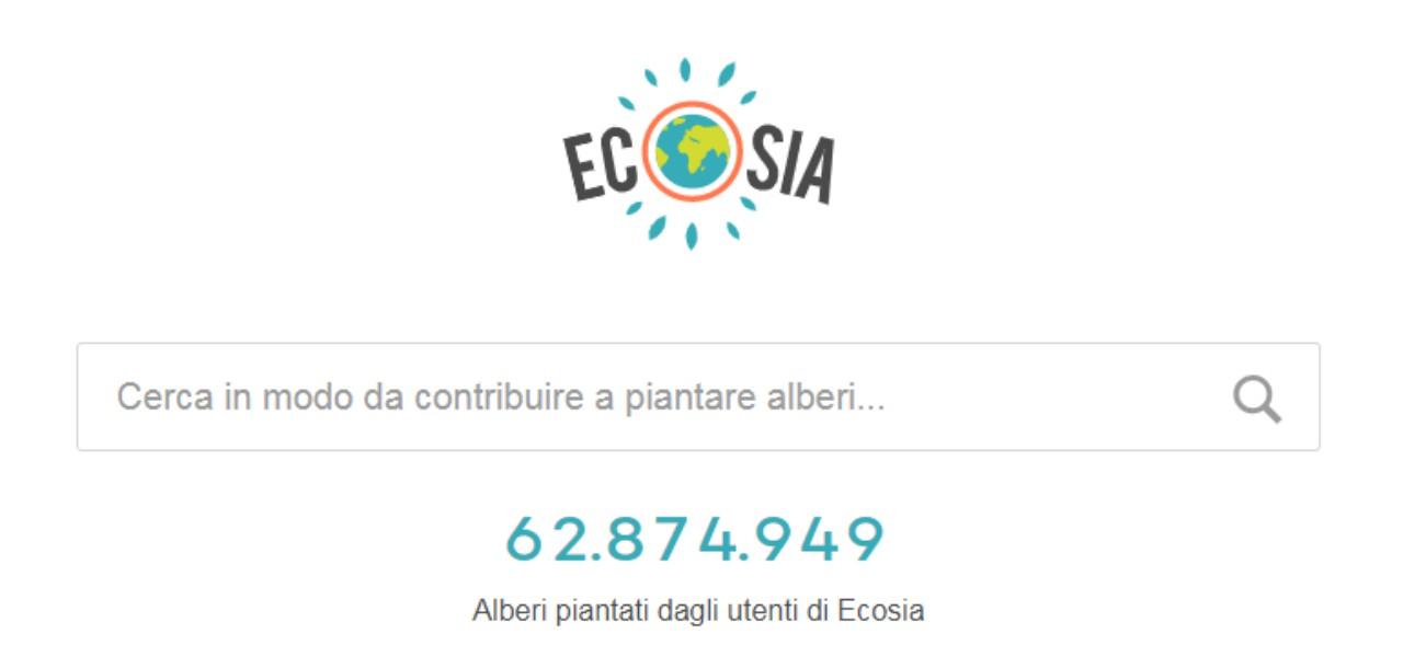 ECOSIA/ Il motore di ricerca che pianta gli alberi: come funziona