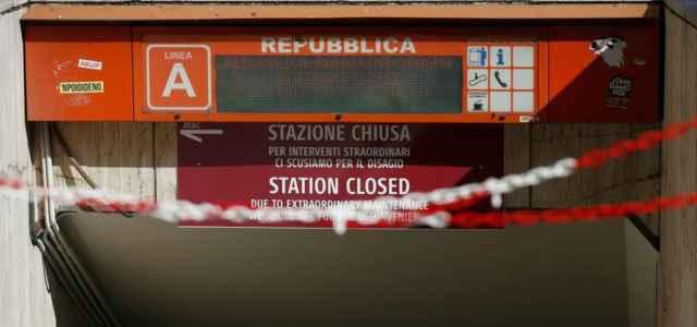 Roma, chiusa Stazione Repubblica
