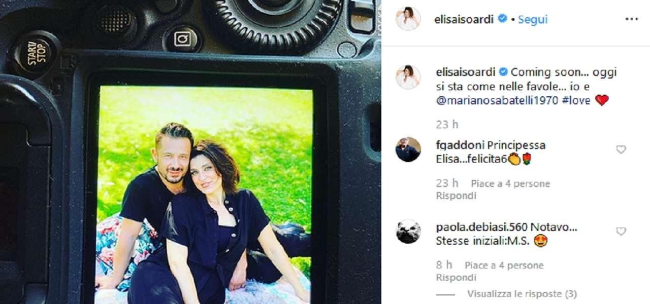 Elisa Isoardi e Mariano Sabatelli fidanzati?/ Foto Instagram con ...