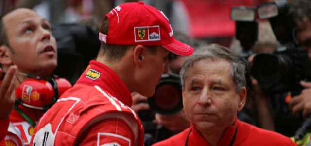 Schumacher e Todt Ferrari Formula 1