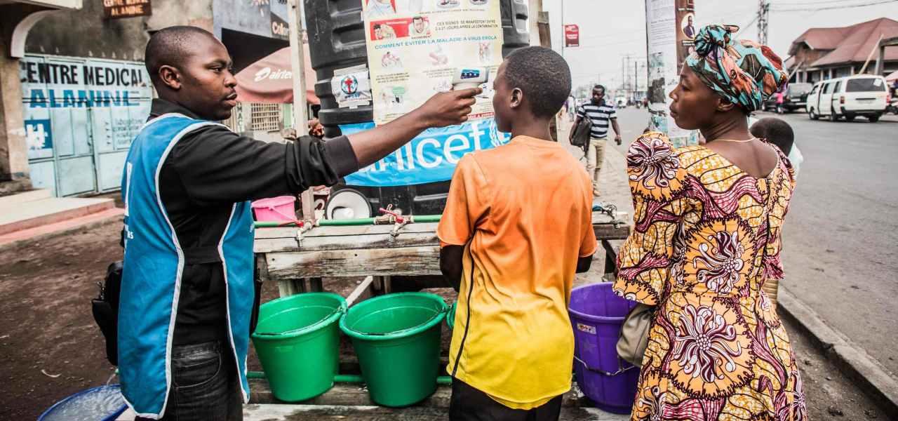 Unicef contro l'Ebola in Congo