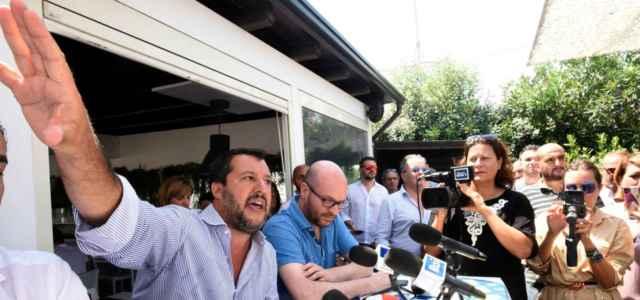 Salvini a Milano Marittima