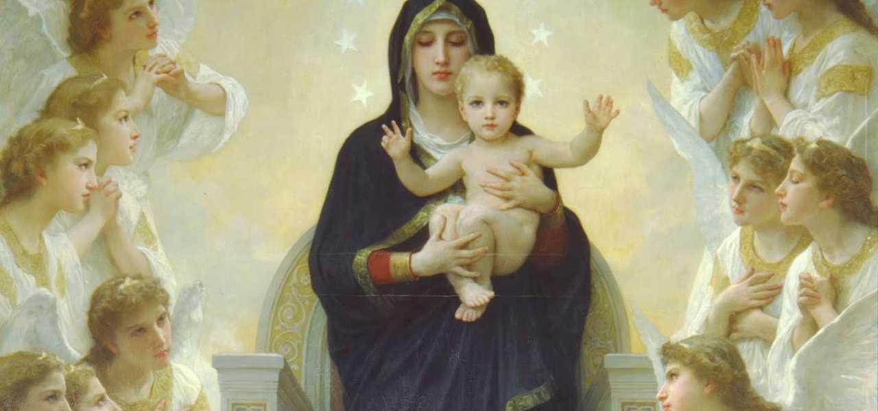 beata vergine maria regina 2019 iconografia