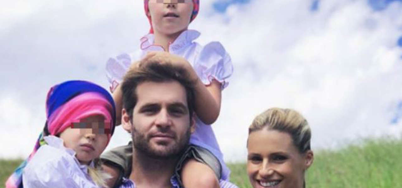 Michelle Hunziker, vacanze in famiglia