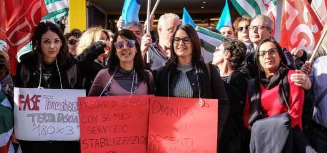 scuola docenti protesta 1 lapresse1280 640x300