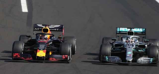 Formula 1 Verstappen Hamilton