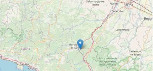 terremoto oggi a Parma