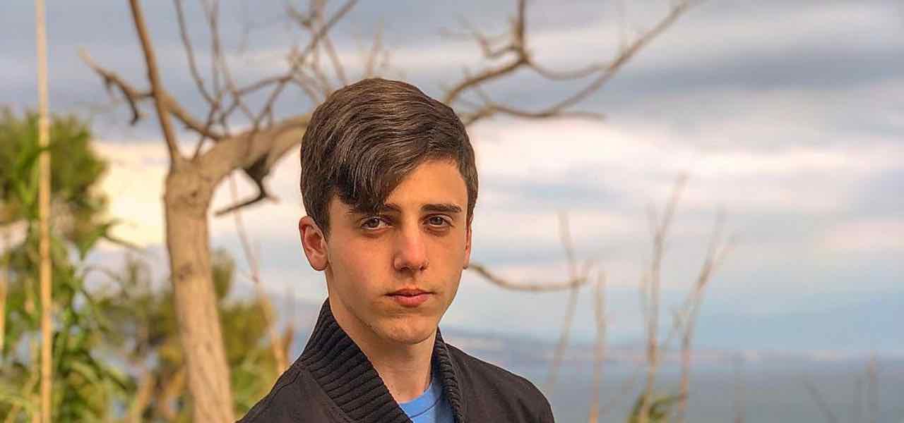 Luca D'Alessio figlio di Gigi