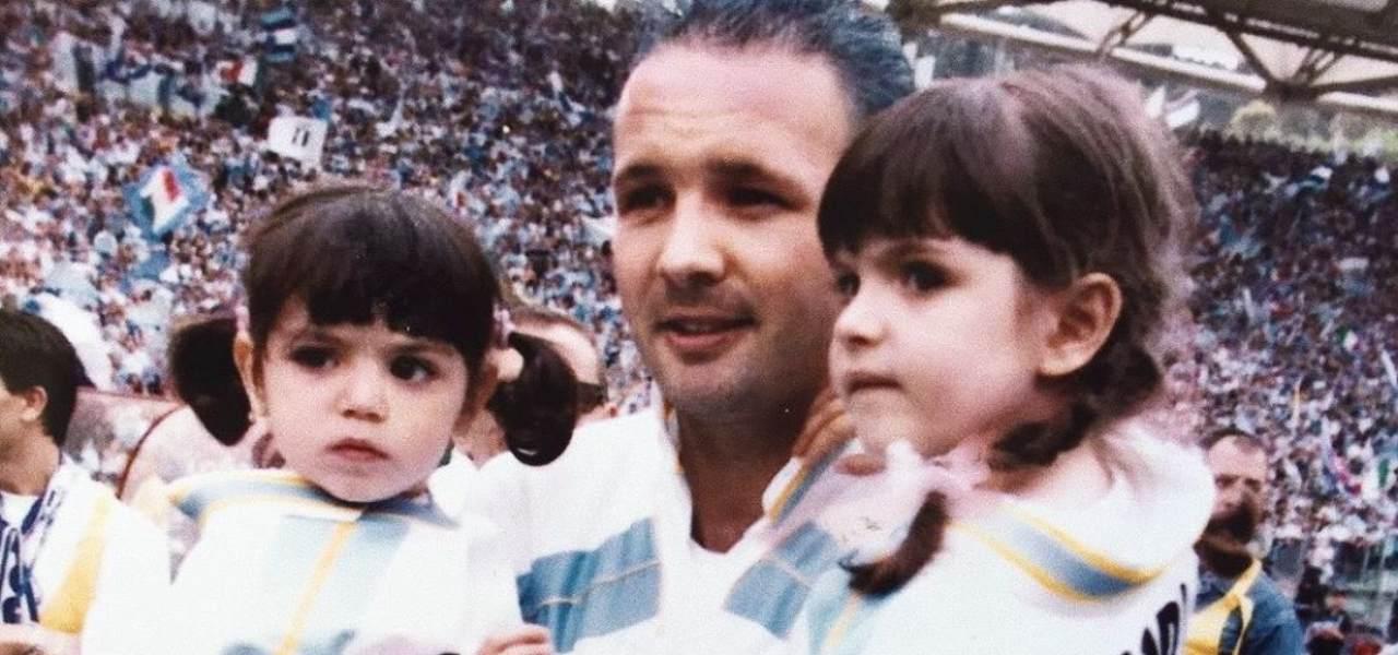 Mihajlovic con le figlie