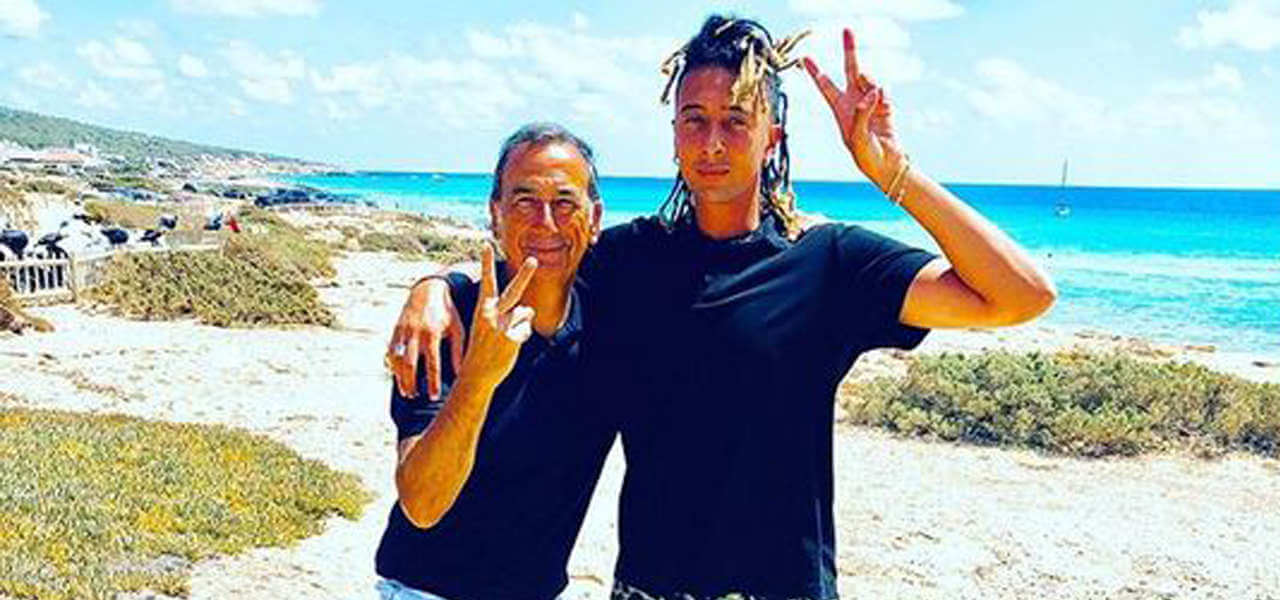 Sala e Ghali in vacanza a Formentera (Instagram)