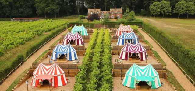 Knight's glamping nel Kent