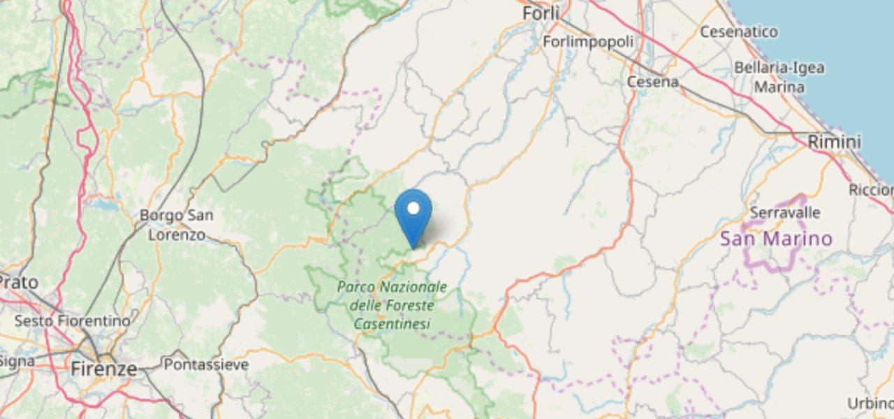 terremoto forli cesena ingv