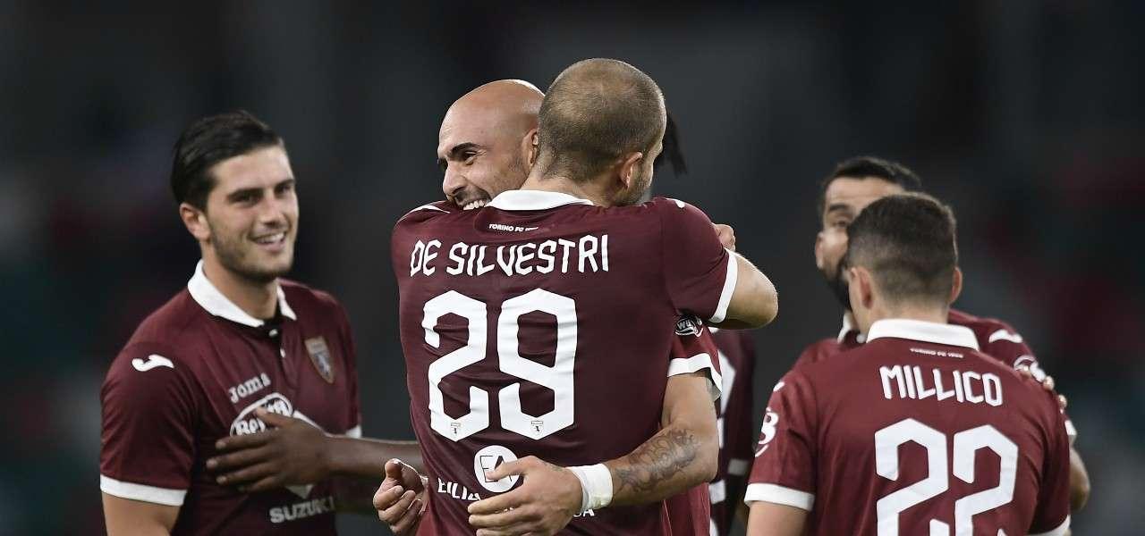 De Silvestri Zaza Millico Torino Europa League lapresse 2019