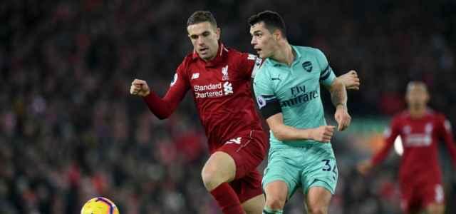 Henderson Xhaka Liverpool Arsenal lapresse 2019 640x300