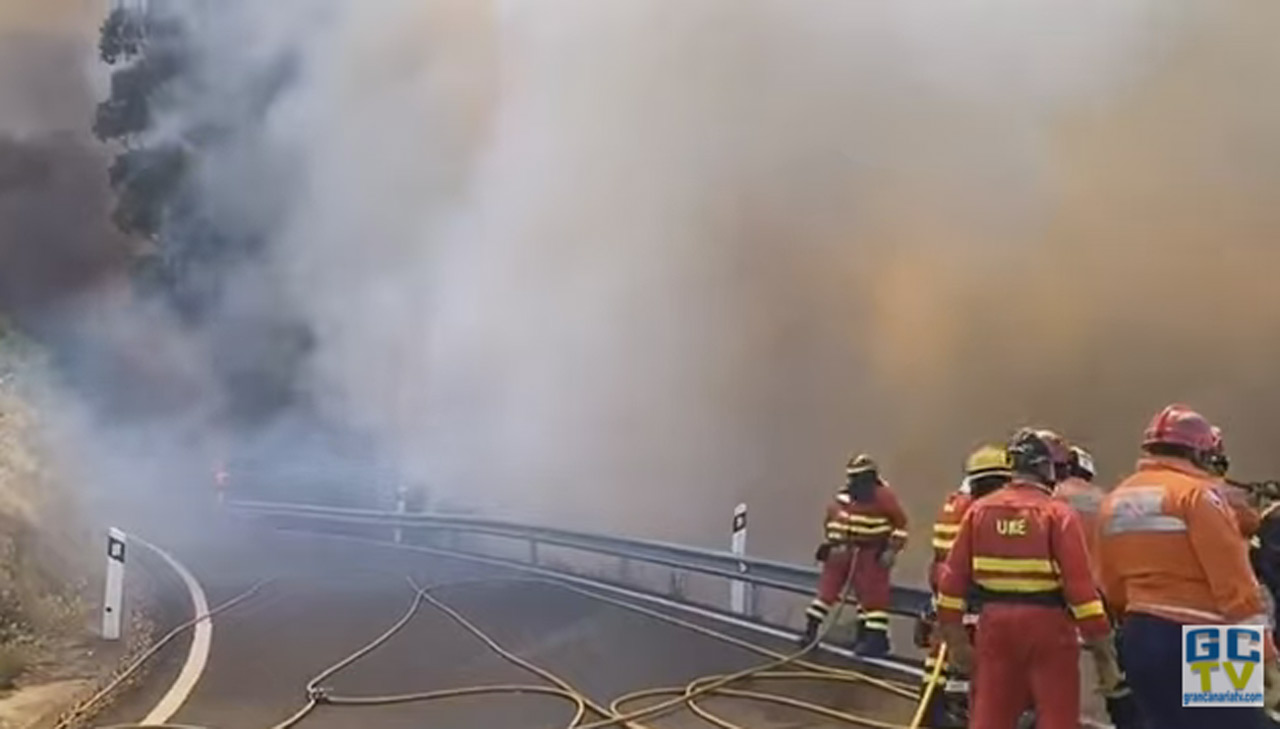 Incendio Canarie (Yt)