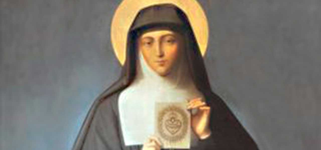 santa margherita alocoque 2019 iconografia