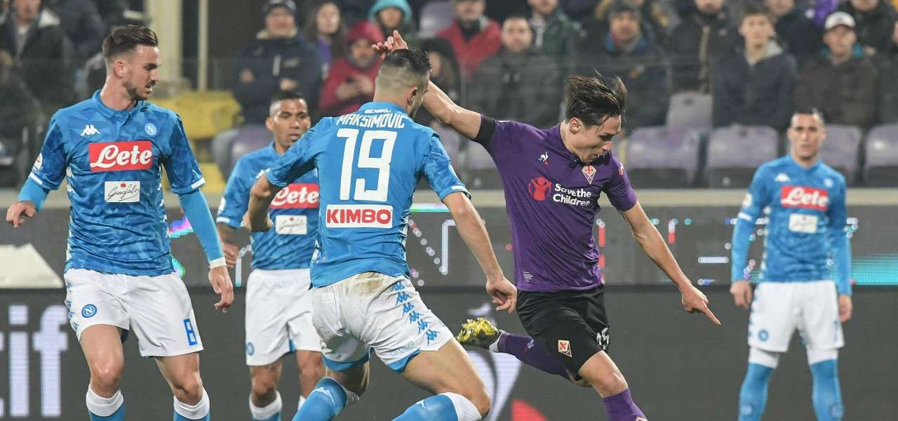 Chiesa Maksimovic Fiorentina Napoli lapresse 2019