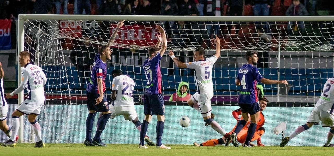 Crotone Cosenza gol lapresse 2019
