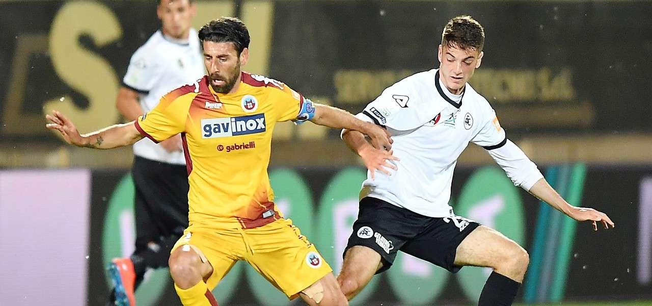 Iori Cittadella Spezia lapresse 2019