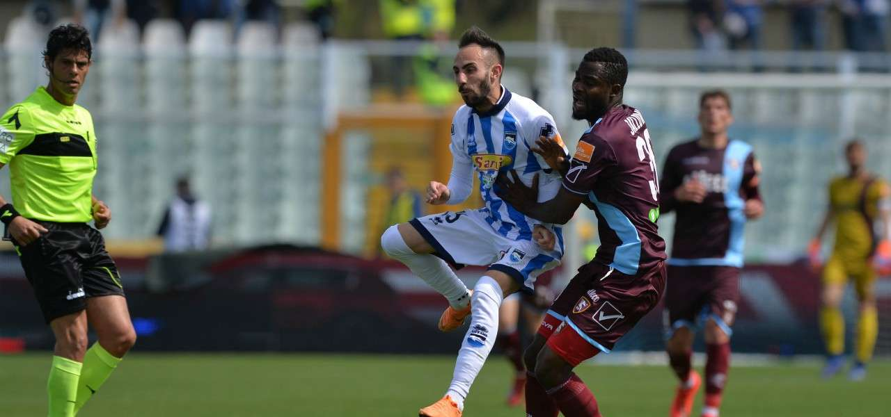 Marras Jallow Pescara Salernitana lapresse 2019