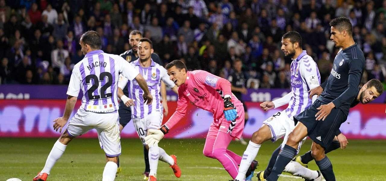 Varane tiro Real Madrid Valladolid lapresse 2019
