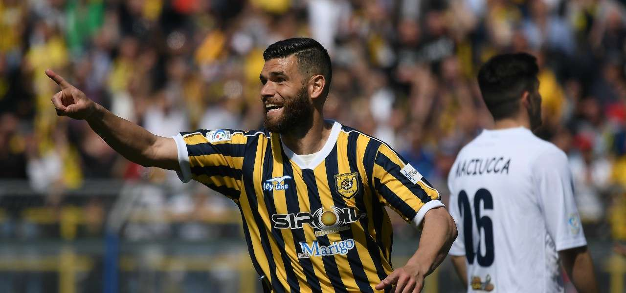 Adriano Mezavilla Juve Stabia gol lapresse 2019