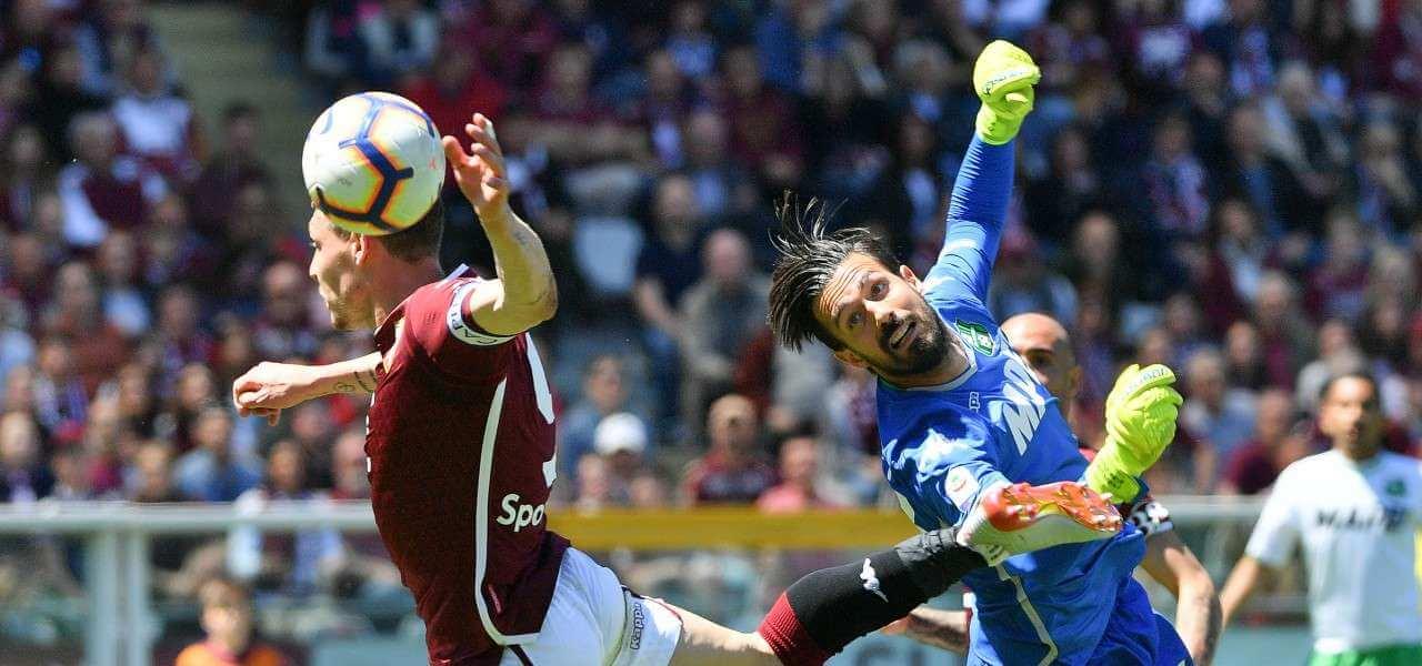 Belotti Consigli Torino Sassuolo lapresse 2019