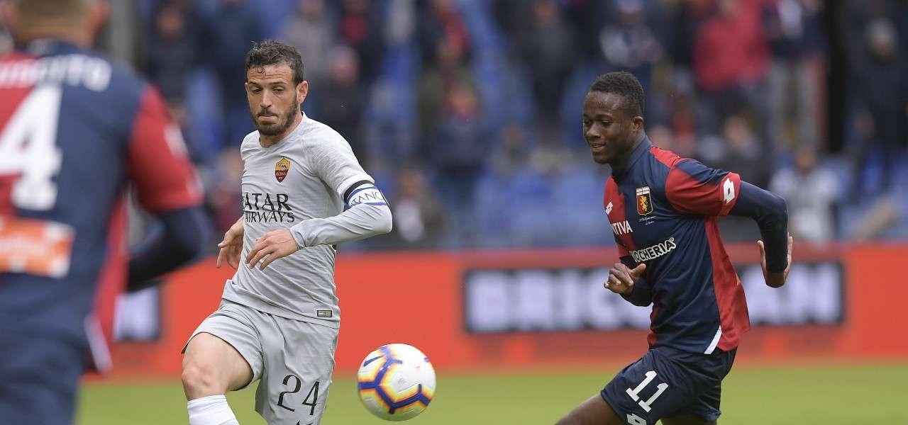 Florenzi Kouame Roma Genoa lapresse 2019