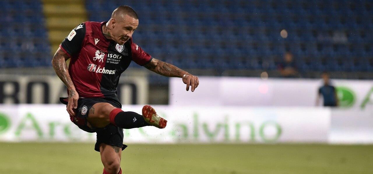 Nainggolan Cagliari passaggio lapresse 2019
