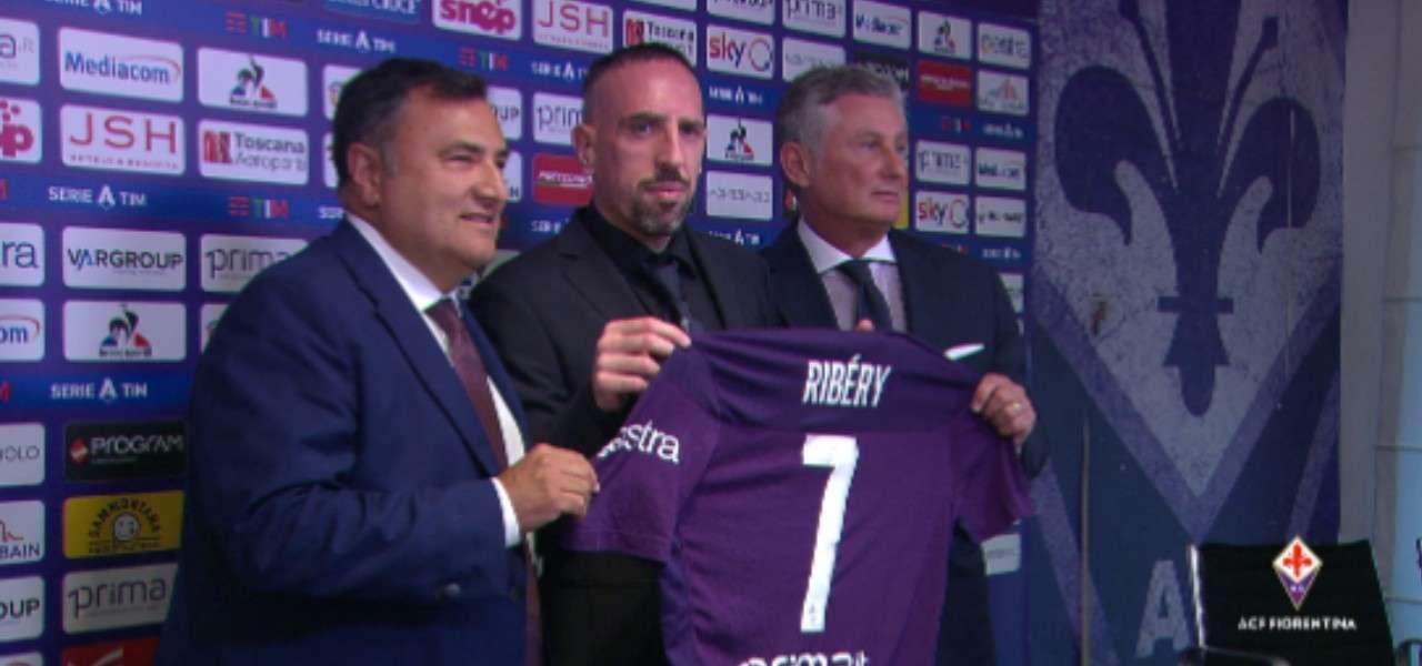 Ribery Prade Barone Fiorentina Twitter 2019
