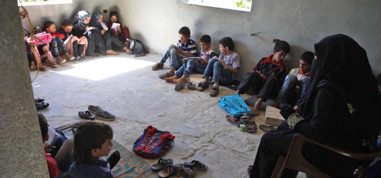 Scuola Aleppo in Siria